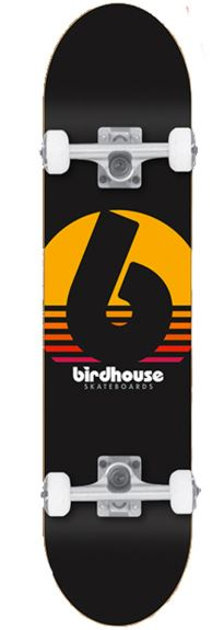 "Birdhouse Sunset 7.5"" Complete"