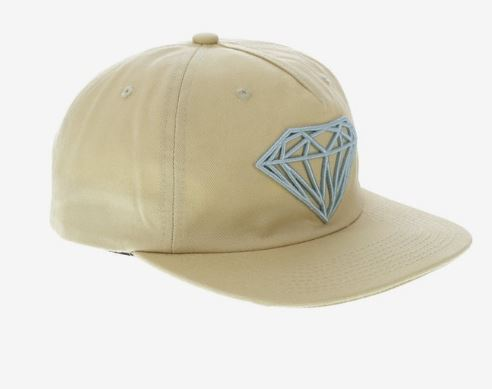 Diamond Supply Co. Brilliant Unconstructed Khaki Snapback