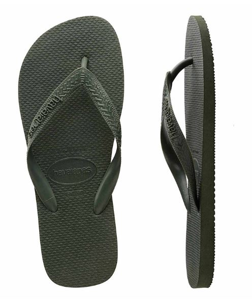 Havaianas Men's Top Green Olive Thongs