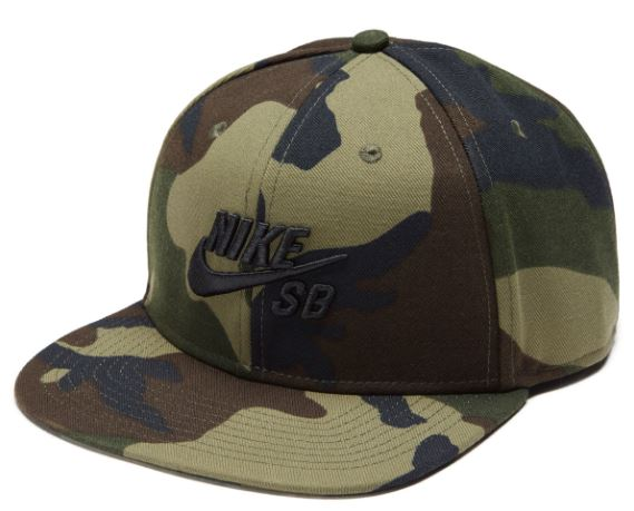 hot sales classic styles free shipping Nike SB Icon Medium Olive Camo/Black Snapback