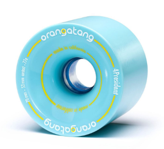 Orangatang 4 President 70mm x 77a Wheels