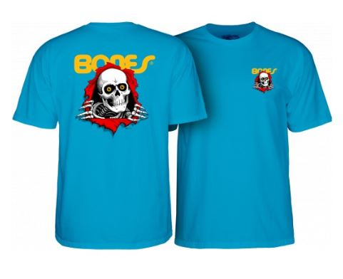 Powell Peralta Ripper Turquoise Youth Tee