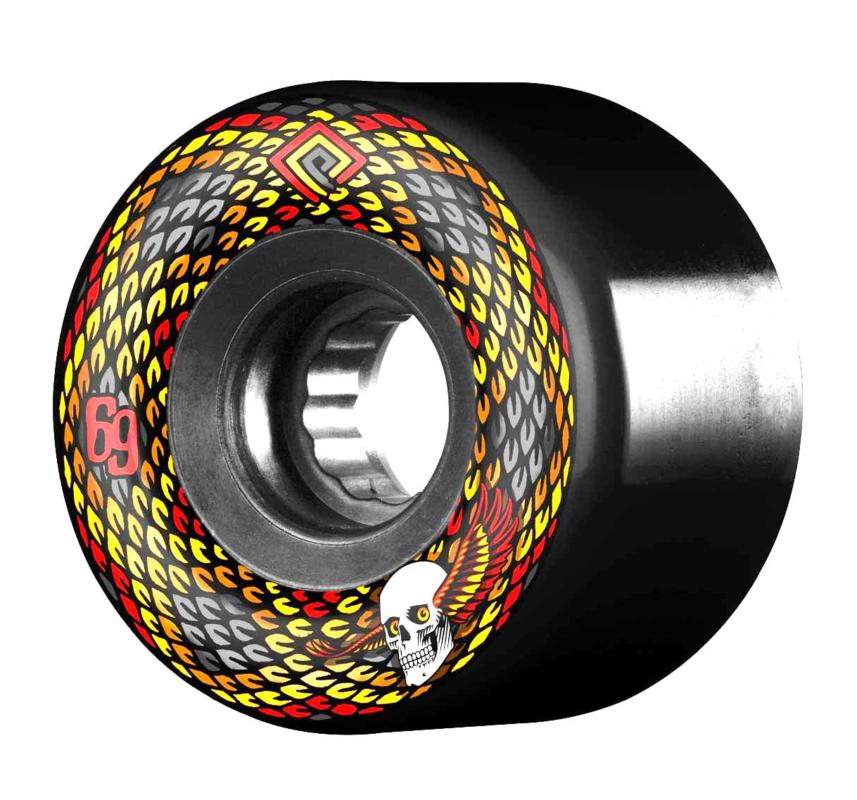 Powell Peralta Snakes 69mm x 75a SSF Black Freeride Wheel