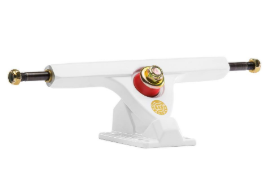 Caliber II 50° White/Gold 180mm Trucks