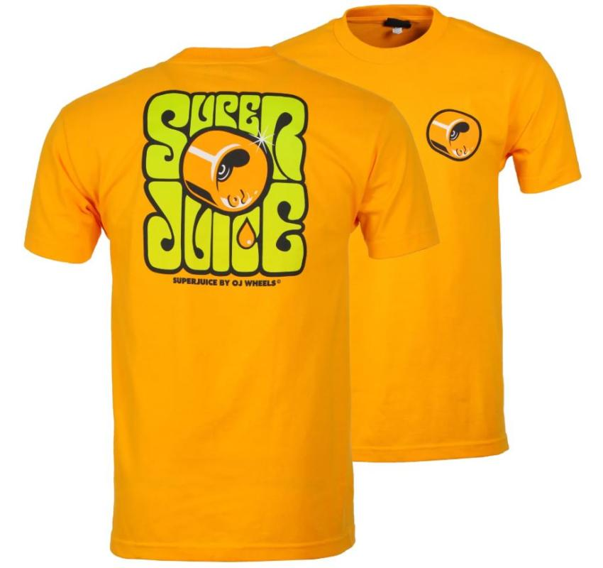 OJ Wheels Super Juice Gold Tee
