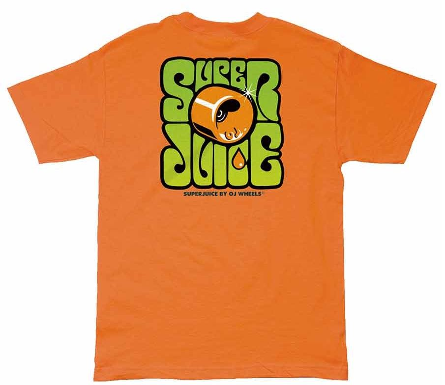 OJ Wheels Super Juice Orange Tee