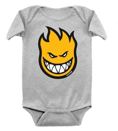 Spitfire Bighead Fill Heather Onesie