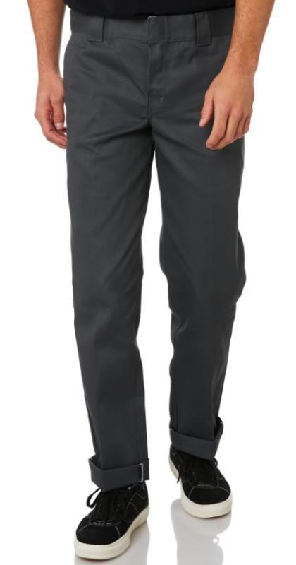 Dickies Slim Fit Straight Charcoal Work Pants
