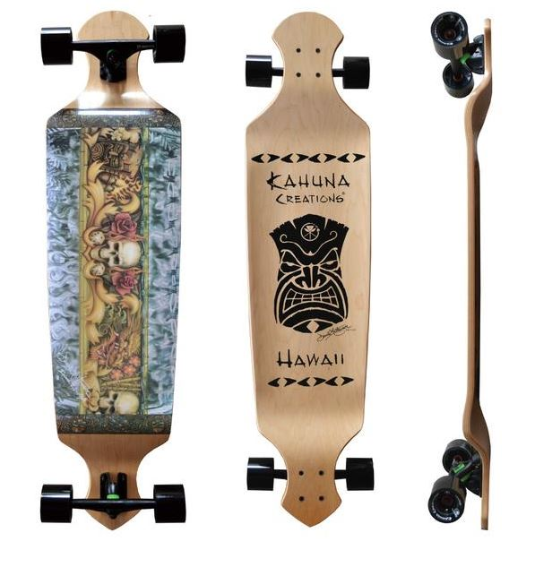 "Kahuna Creations Island Lifestyle Drop Deck 43"" Complete"