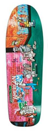 Polar Skate Co. Klez Skid Row 9.75″ Deck