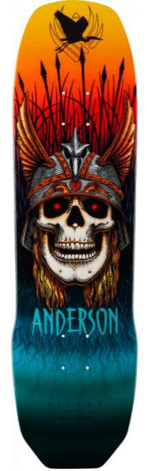 "Powell Peralta Andy Anderson Heron Flight 8.45"" Deck"