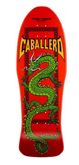"Powell Peralta Caballero Chinese Dragon Red 10"" Deck"