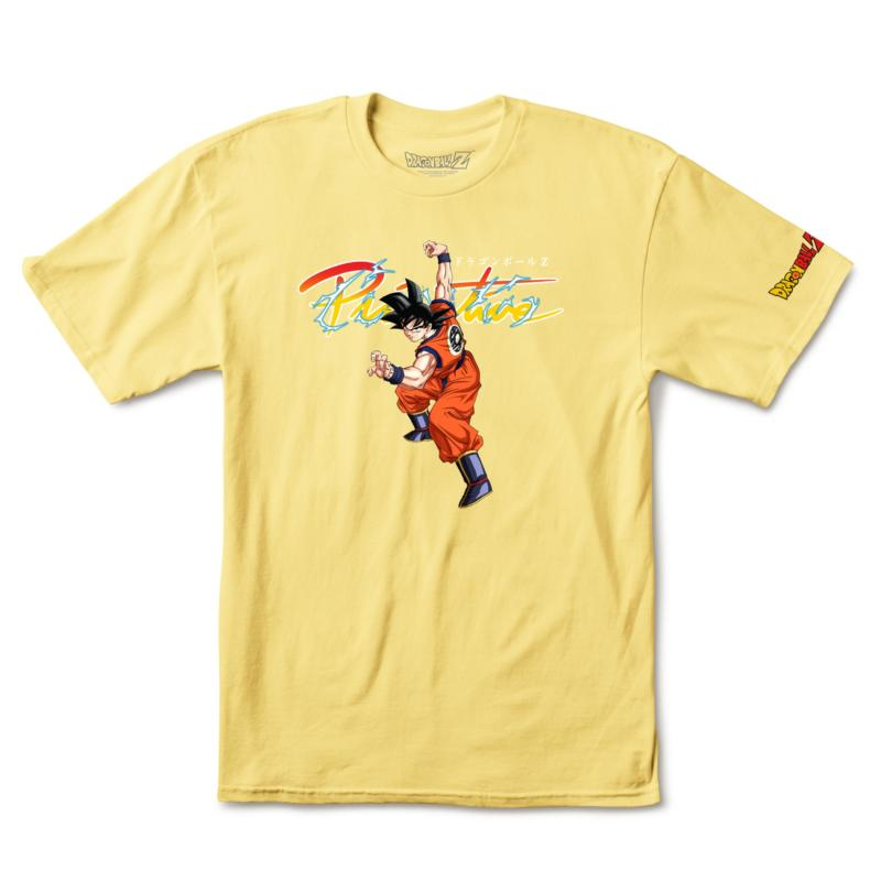 Primitive x Dragon Ball Z Nuevo Goku Banana Tee