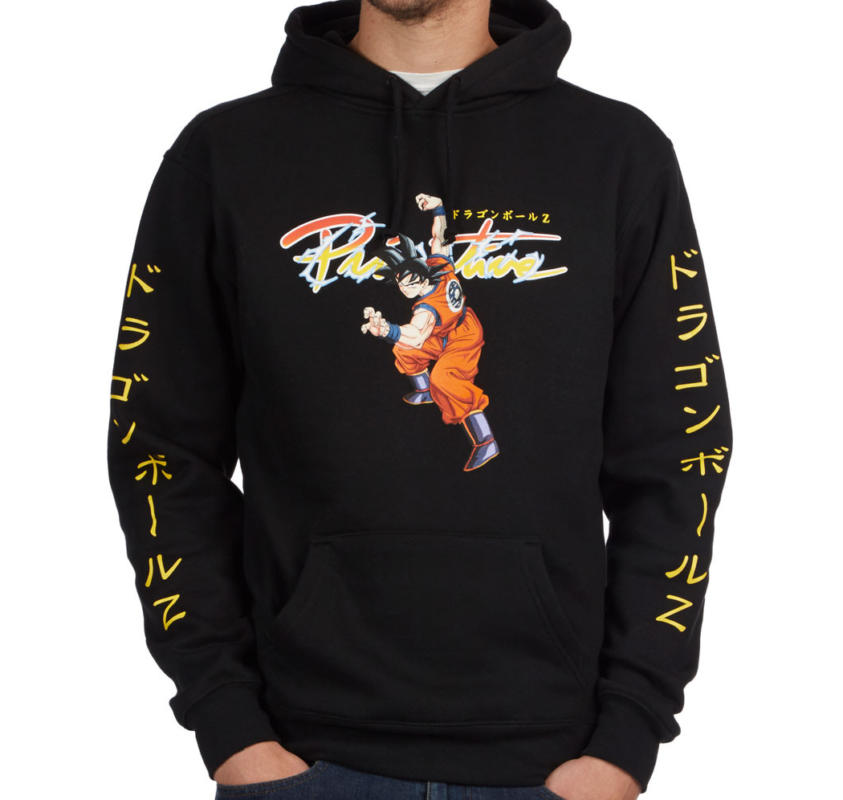 Primitive x Dragon Ball Z Nuevo Goku Black Hoodie