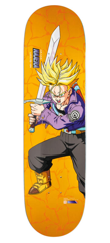 "Primitive x Dragon Ball Z Super Saiyan Najera Trunks 8"" Deck"