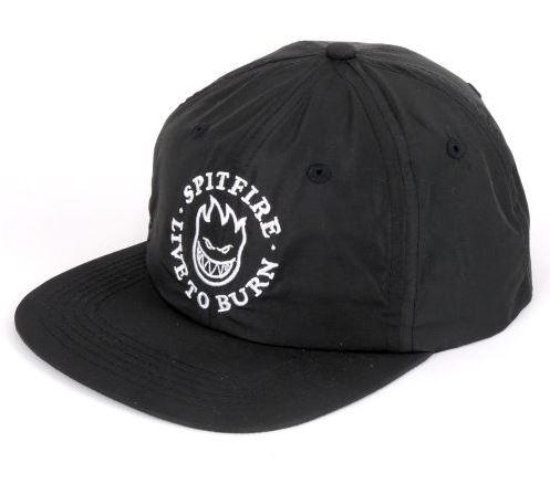 Spitfire Big Head LTB Black/White Strapback