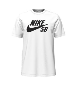Nike SB Dri-Fit White/Black Tee
