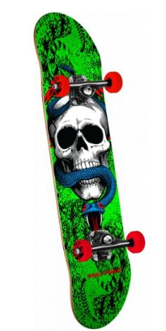 """Powell Peralta McGill Skull & Snake One Off Green 7.75"""" Complete"""
