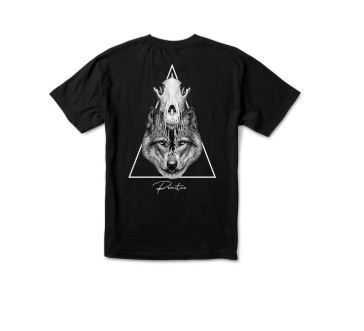 Primitive Hunter Black Tee