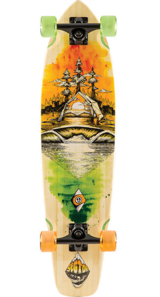 "Sector 9 Odyssey Fort Point Bamboo Series 34"" Complete"