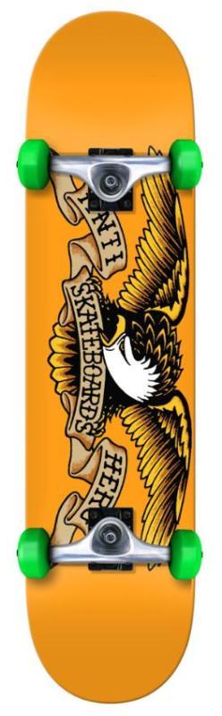 "Anti Hero Classic Eagle Orange 7.75"" Complete"