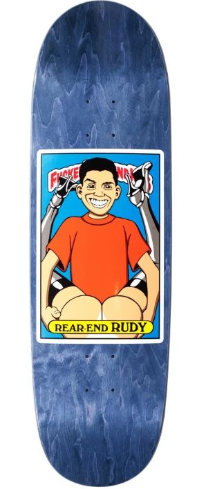 "Blind Skateboards Fucked Up Blind Kids Rudy Johnson Rear End Rudy 8.98"" Deck"