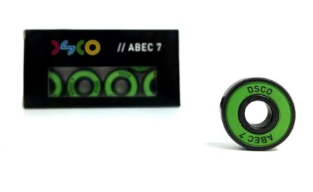 DSCO Abec 7 Green Shield Bearings