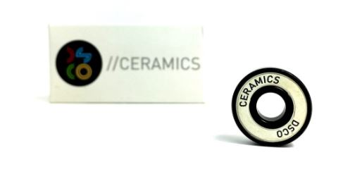 DSCO Ceramic White Shield Bearings
