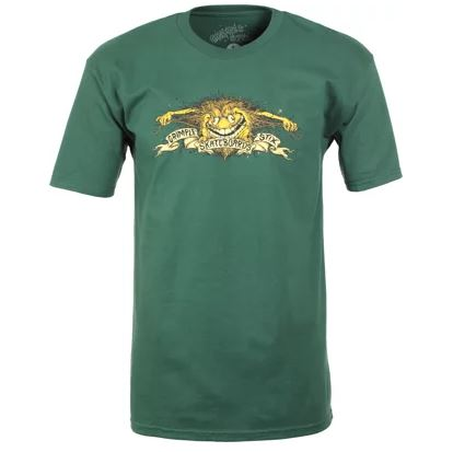 Anti Hero x Grimple Stix Eagle Forest Green Tee