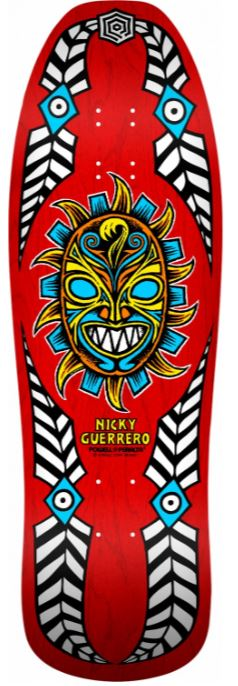"Powell Peralta Nicky Guerrero Mask Red 10"" Deck"