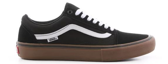 Vans Old Skool Pro Black/White/Medium Gum Shoes