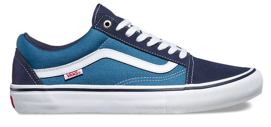 Vans Old Skool Pro Navy/STV Navy/White Shoes
