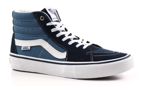 Vans SK8 High Pro Navy/White Shoes