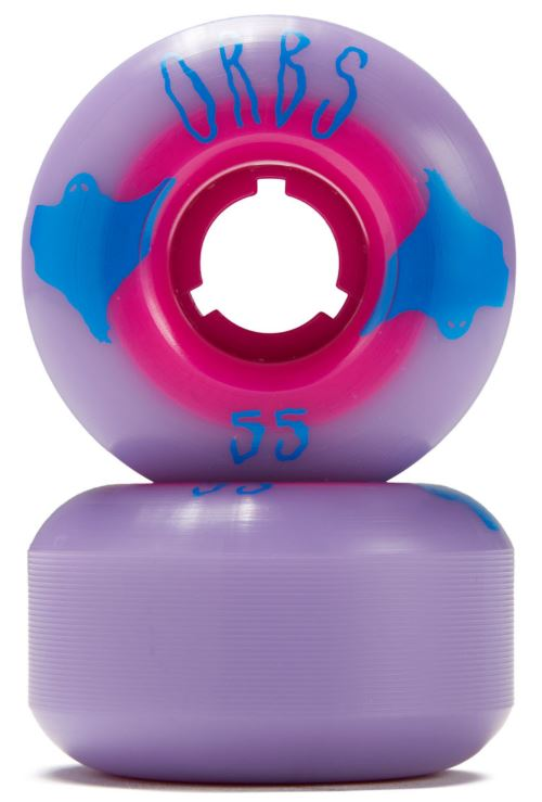 Welcome Orbs Poltergeists Purple/Pink 55mm Wheels