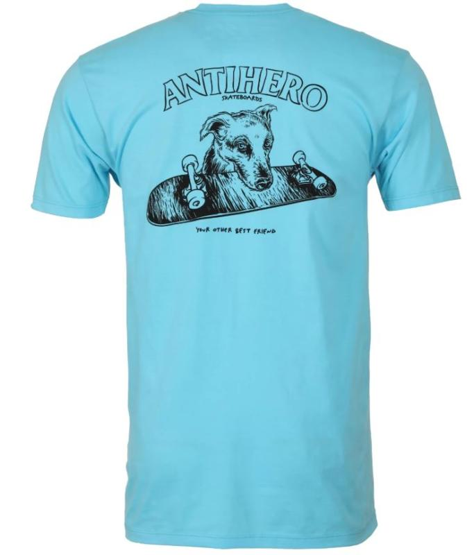 Anti Hero Best Friend Pacific Blue Tee