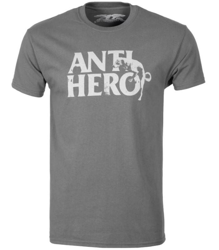 Anti Hero Dog Hump Charcoal Tee