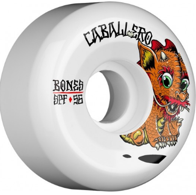Bones SPF Caballero Baby Dragon Pro 56mm x 84b Wheels