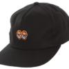 Krooked Eyes Emblem Black/Orange Strapback
