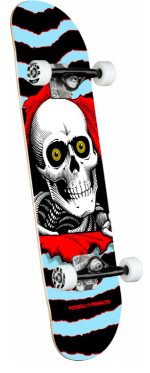 "Powell Peralta Ripper One Off Blue 8"" Complete"
