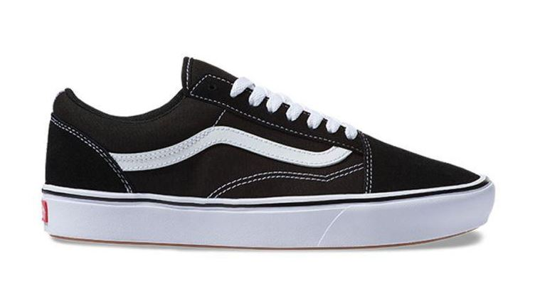 Vans Old Skool ComfyCush Black/White Shoes