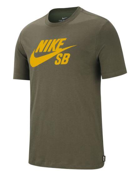 Nike SB Dri-Fit Medium Olive/Dark Sulfur Tee