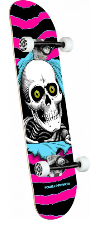 "Powell Peralta Ripper One Off Pink 7.75"" Complete"