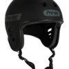 Protec Full Cut Certified Matt Black Helmet