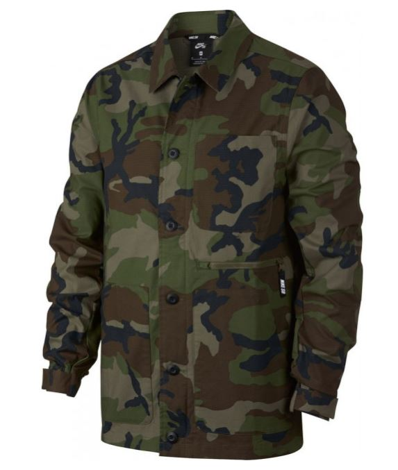 Nike SB Flex Camo Jacket Men's | Mens jackets casual