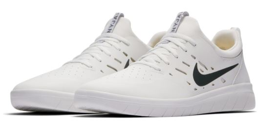 Nike SB Nyjah Free Summit White Skate Shoes