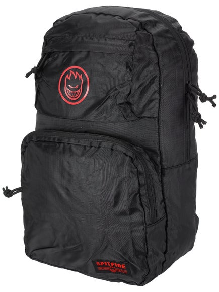 Spitfire Bighead Circle Packable Black Backpack