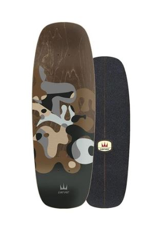 "Carver Gray Ray 27.5"" Deck"