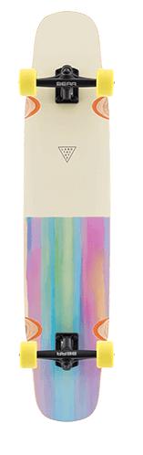 Landyachtz Tony Danza Watercolor 39.9 Longboard Skateboard Complete