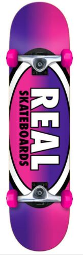 """Real Oval Fades 7.38"""" Complete"""