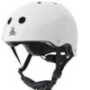 Triple 8 Lil 8 White Glossy Helmet